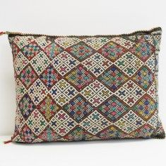 Berber pillows : Kelim Berber kussen 24 50 x 35 cm