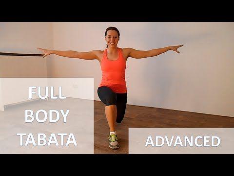 25 Minute Intense Full Body Tabata Workout – Cardio ...