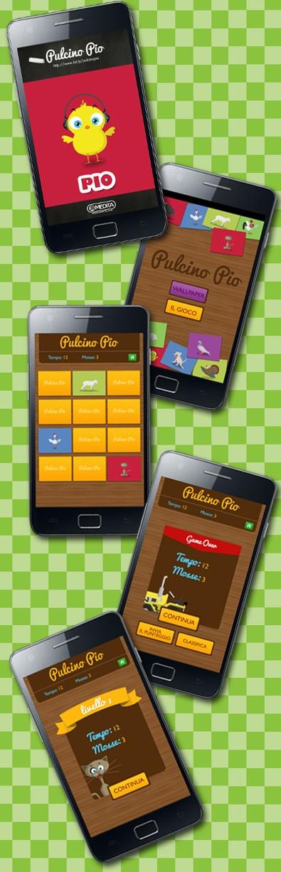 Pulcino Pio: scarica gratis l'#app android!Gioca a Pio Memory o istalla il wallpaper del tuo personaggio preferito!