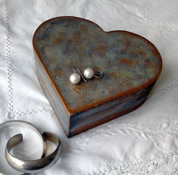 Heart Shaped Wooden Jewelry Box Woodworking Projects Amp Plans