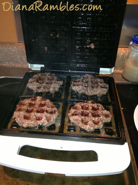 Waffle Burgers | 25 Things You Didn't Know You Could Cook On A Waffle Iron
