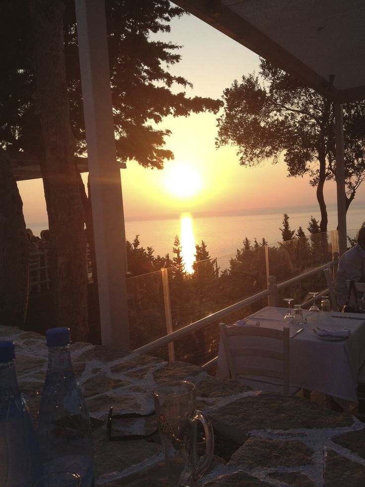 Sunset on Paxos
