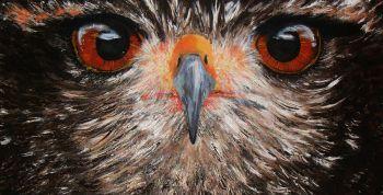 the stare Artist: pope, michelle Artwork title: the stare