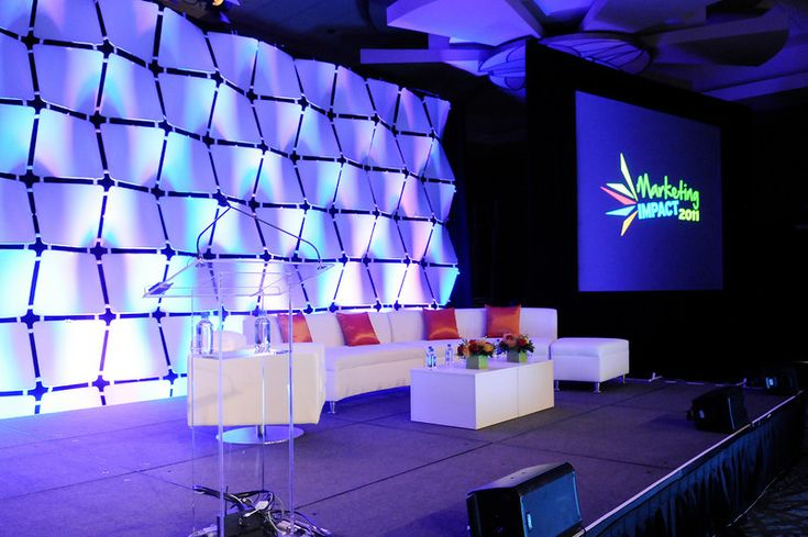 MillwardBrown2011 Stage set