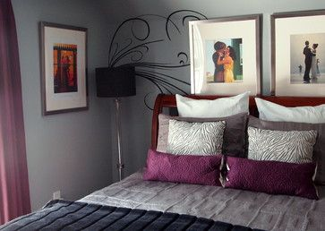 Purple Grey Design Ideas, Pictures, Remodel, and Decor - page 3