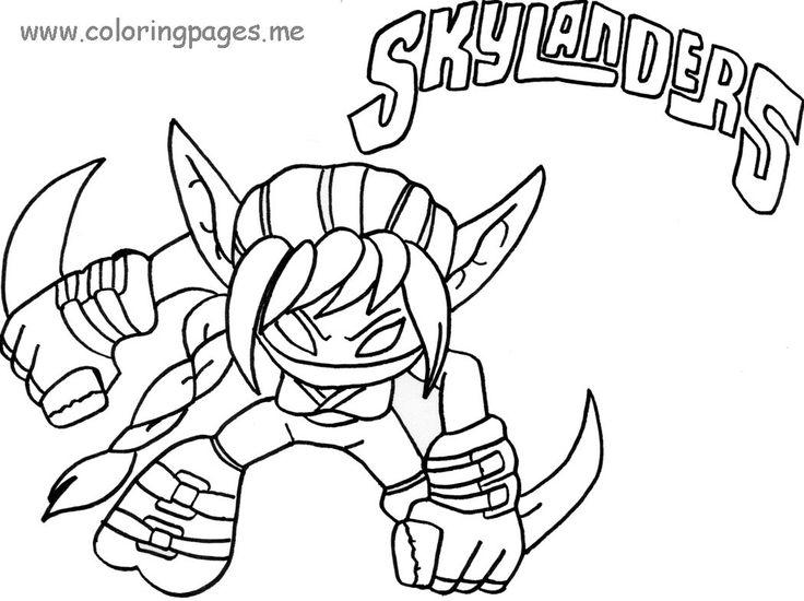 skylanders coloring pages spitfire fargo - photo#17