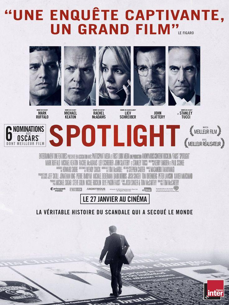 SPOTLIGHT de Tom McCarthy (Oscar du meilleur film 2016)