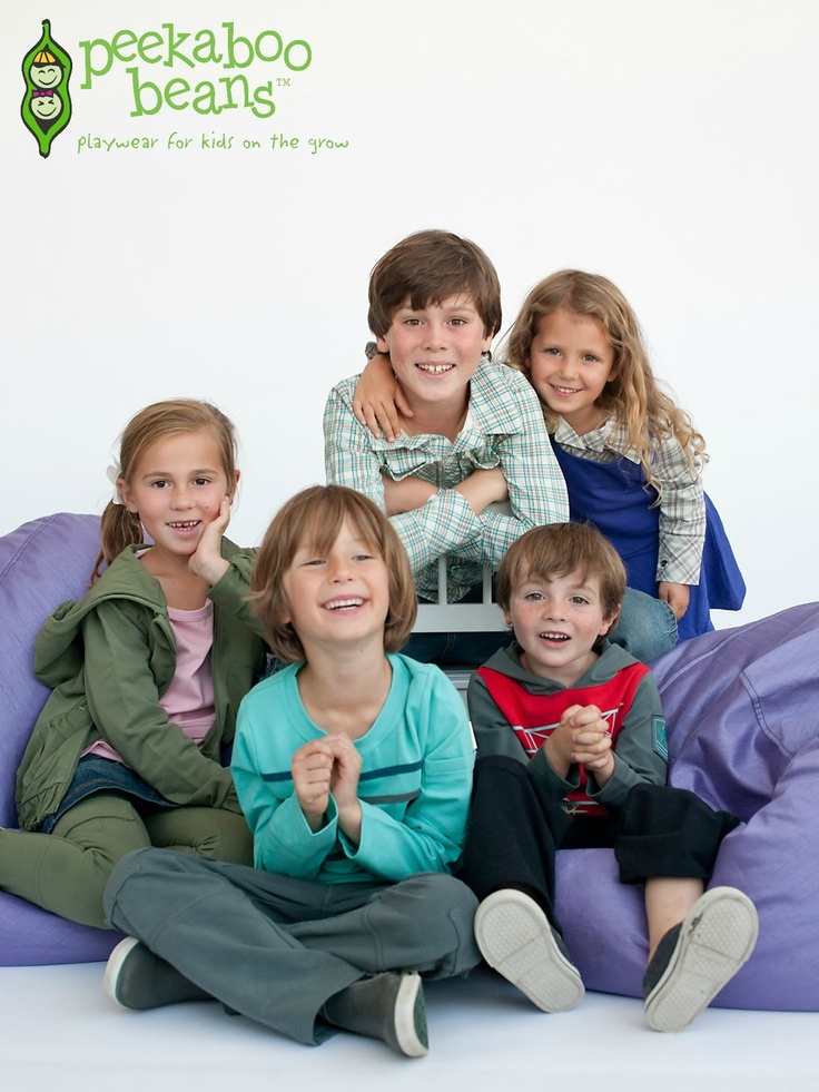 Peekaboo Beans: Fall 2012 Collection.  Playwear for kids on the grow!