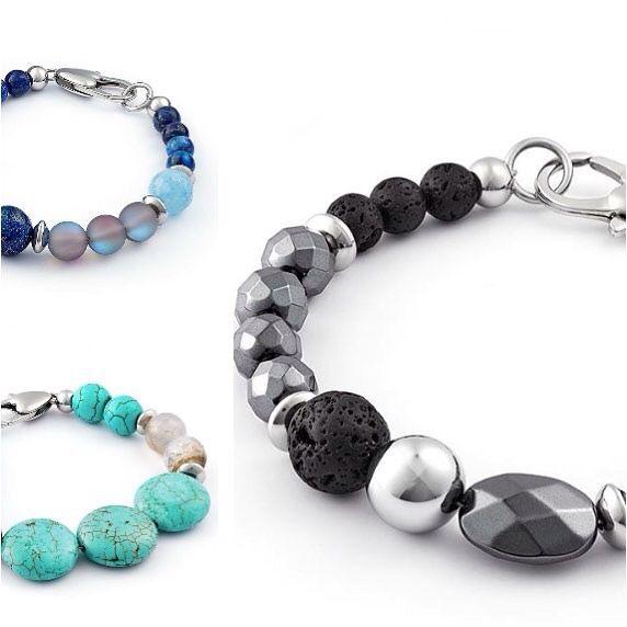 New precious stone bracelets! FB @lauratocara