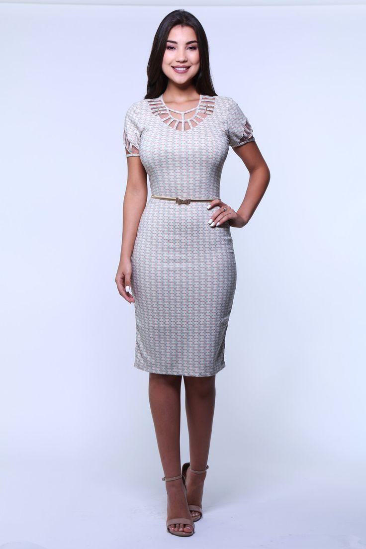 Vestido Woman da Bella Herança.✓Troca Grátis. ✓ Melhores marcas de moda evangélica. ✓ Até 3x sem Juros
