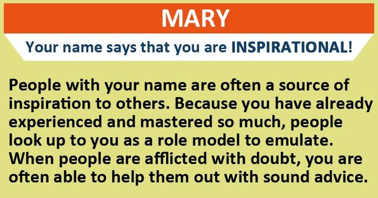 What's the hidden meaning behind your name?
