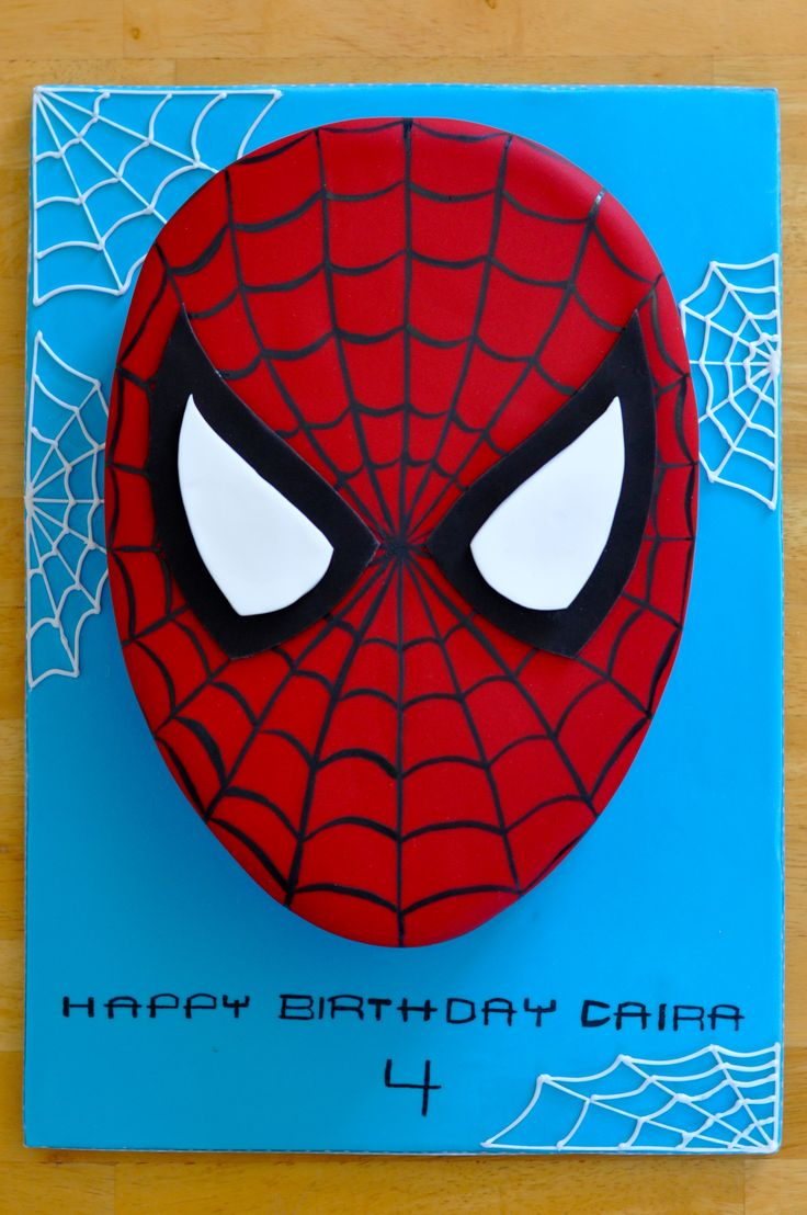 Yvonne Chan Cakes | Spiderman