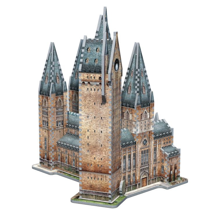 Journey into the magical world of Harry Potter™ and recreate your favorite School of Witchcraft and Wizardry with Hogwarts™ - Astronomy Tower, an 875 pieces 3D puzzle from Wrebbit 3D™. Combine Hogwarts - Great Hall with Hogwarts - Astronomy Tower and get a 3D puzzle of 1,725 pieces.