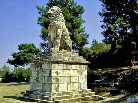 Amphipolis Lion.