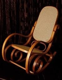 Bentwood Rocker- my mom and dad gave me one of these when I turned 21 because I was getting old!  Ha Ha