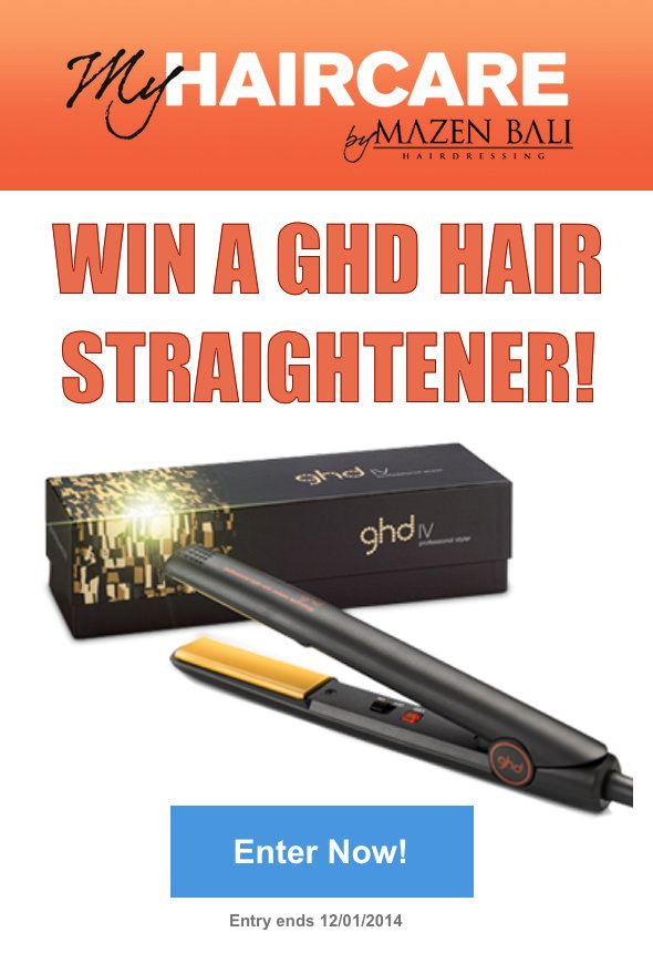 My hair desperately needs a GHD