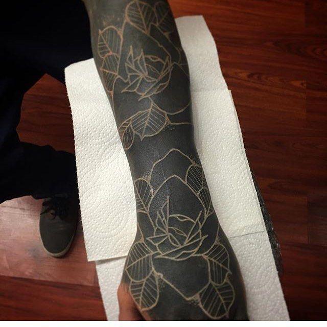 30+Extreme+Blackout+Tattoos+-+Girly+Design+Blog
