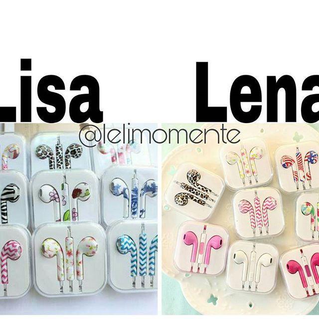Lisa or Lena? Subject: Earbuds Sets  My Choice: Lisa