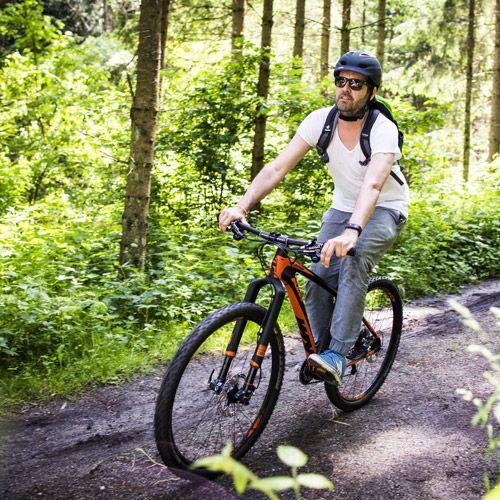 Beim #Mountainbiken das #Grantithochland entdecken und die sportliche Herausforderung suchen. Mehr Infos unter http://entdecke.muehlviertel.at Foto: Oberösterreich Tourismus/Suanne Einzenberger