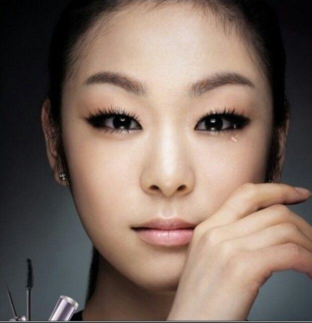 yuna kim monolid makeup monolid makeup inspiration