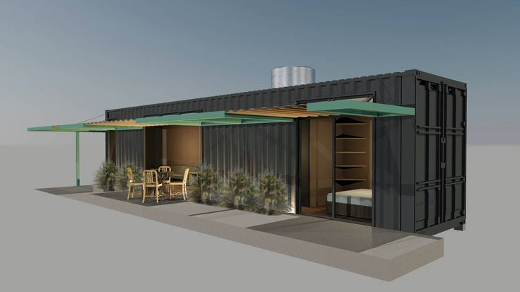 ⌂ The Container Home ⌂  Pousada Container 40 HC - Container Store