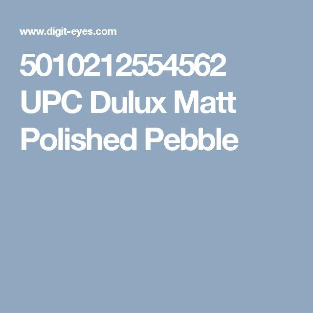 5010212554562 UPC Dulux Matt Polished Pebble