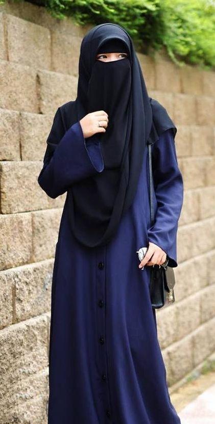 niqab, hijab, and müslimah image