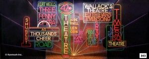 Theatrical backdrop for rent 42nd STREET - Package 1 - 17x43