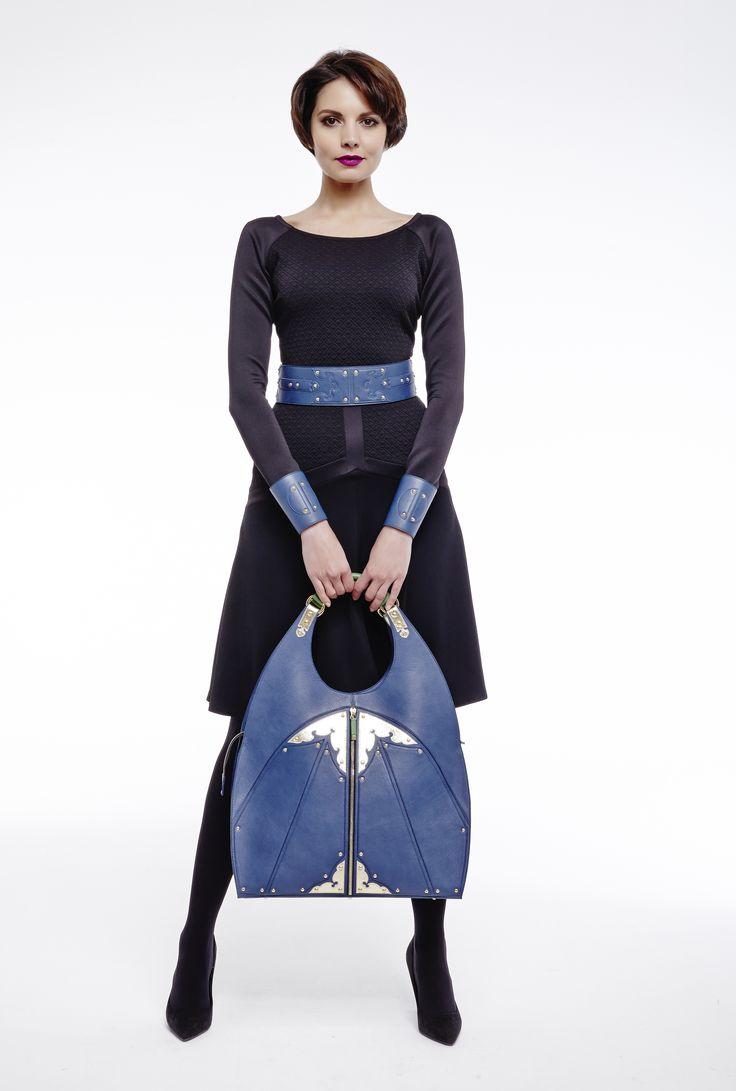 #littleblackdress #bags #royalblue #barcelet