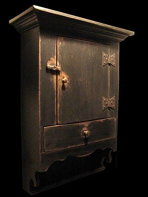 Daryl McMahon: Montgomery County wall cupboard...amazing reproductions