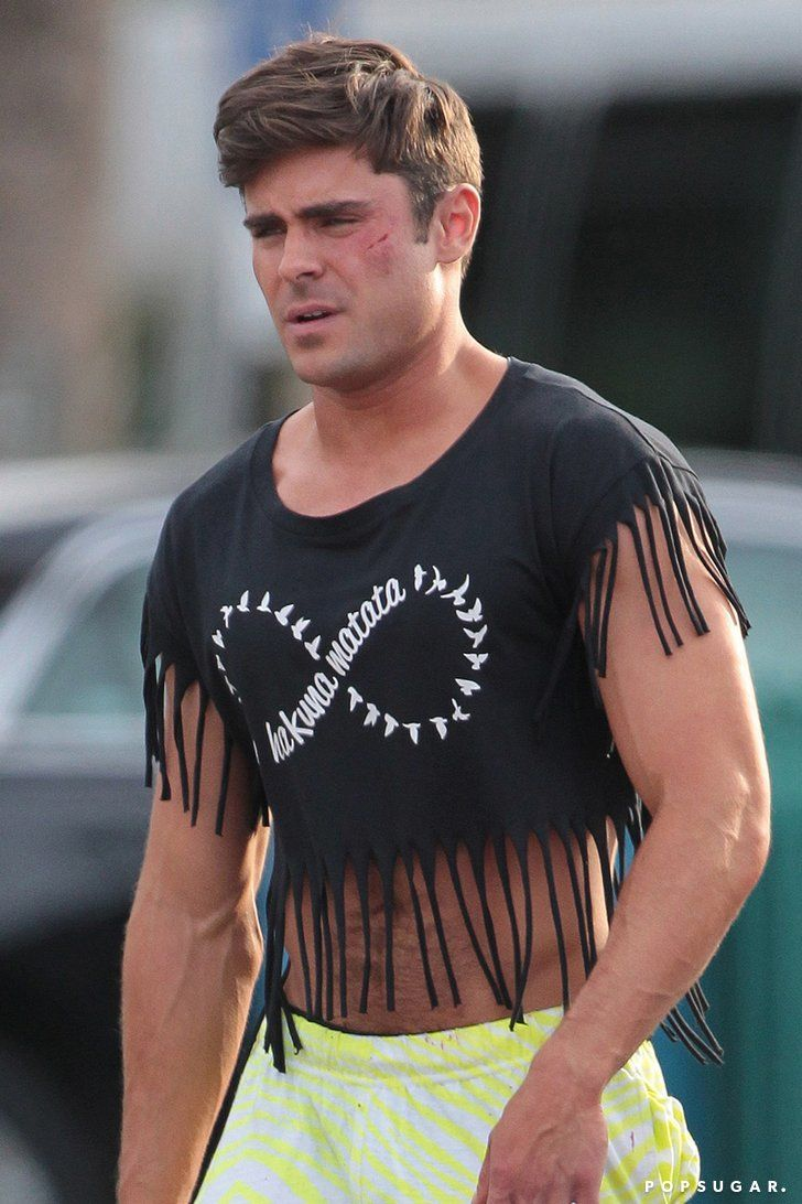 Zac Efron Wearing a Crop Top Needs No Explanation — Wait, Yes It Does