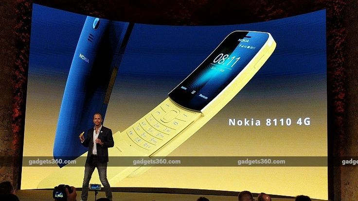 Nokia 8110 4G With VoLTE Support Launched at MWC 2018: Price Specifications  Nokia 8110 4G was launched by HMD Global at the Nokia Mobile launch event at MWC 2018. The new feature phone is take on the legendary original with the same name and retains the iconic curved slider design. It adds 4G VoLTE connectivity a concession to the modern age and is meant to serve as a 4G feature phone or a companion phone. The smartphone runs on a Smart Feature OS with access to apps like Google Assistant…