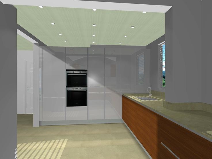 Kitchen design - view (a)