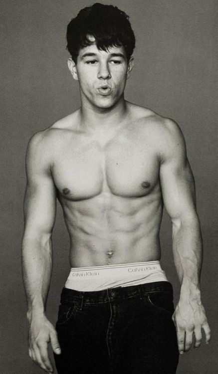 "christophwaltzers:  ""Mark Wahlberg for Calvin Klein, 1991.  ""  I still Love Mark W!"