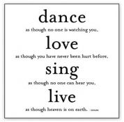 do this all day long - Dance, Love, Sing, Live