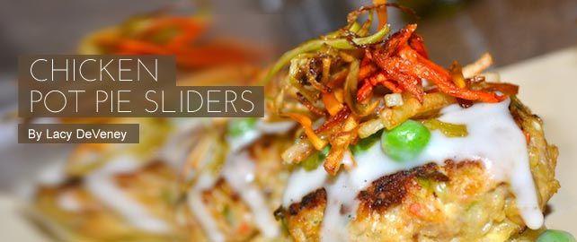Chicken Pot Pie Sliders | Chicken & Fowl | Pinterest