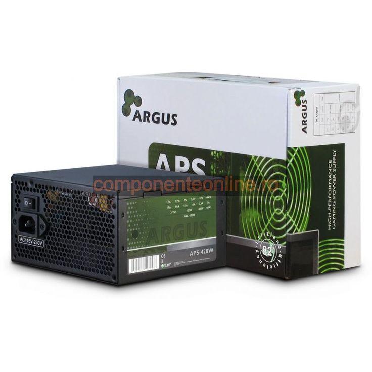 Sursa PC 420W, ATX, Argus, APS-420W, Inter-Tech - 328940