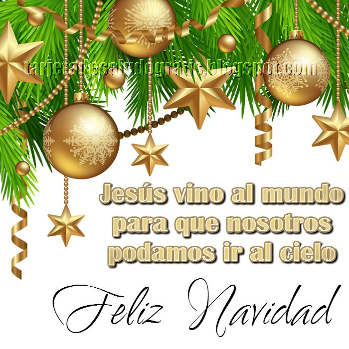 *7 Tarjetas Navideñas 2014 para compartir e imprimir* | Tarjetas de saludo gratis
