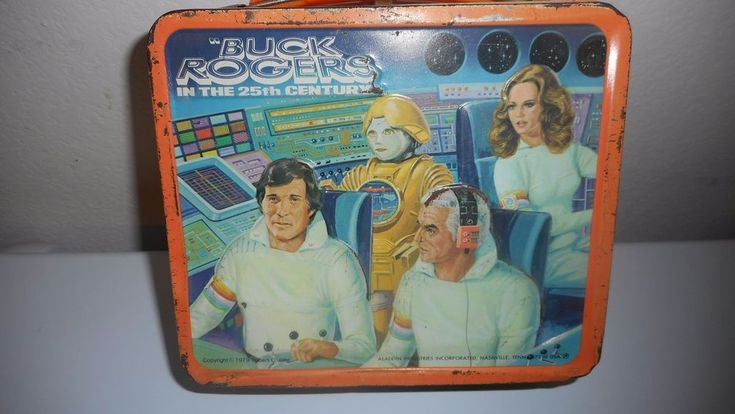 VINTAGE 1979 BUCK ROGERS IN THE 25TH CENTURY ALADDIN LUNCH BOX W/O THERMOS