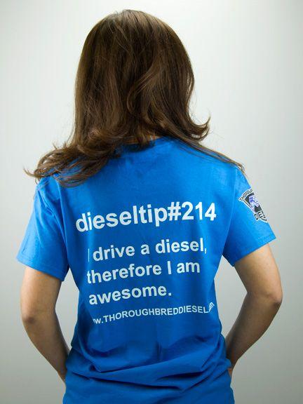 Thoroughbred Diesel DieselTip#214 T-Shirt
