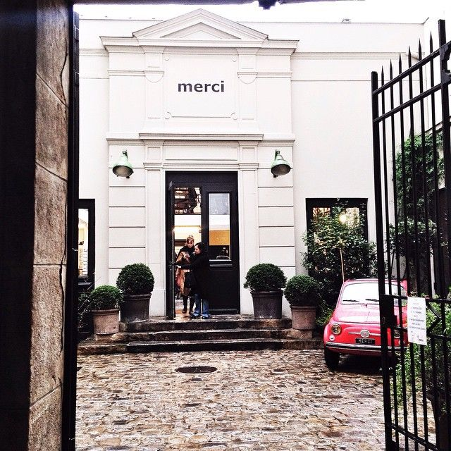 merci concept store paris le marais gifts city guides p a r i s. Black Bedroom Furniture Sets. Home Design Ideas