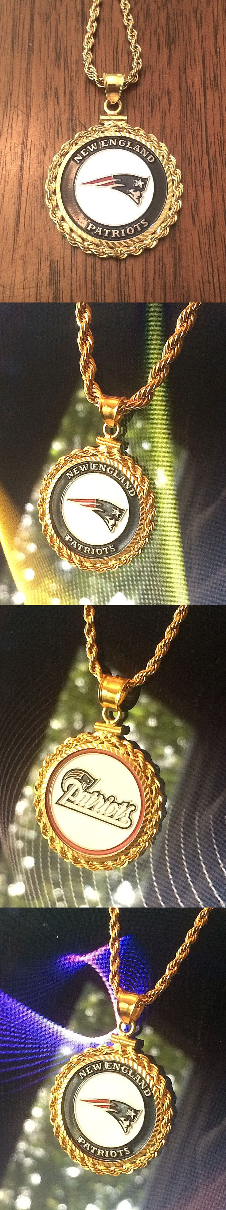 Other Jewelry and Watches 98863: Awesome Gold Filled Necklace W Nfl New England Patriots Setting Jewelry Gift -> BUY IT NOW ONLY: $99.99 on eBay!