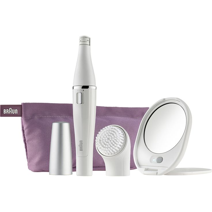 Personal Edge : Braun SE830 Mini Epilator & Facial Brush