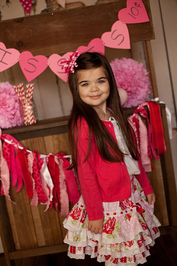 Fun N Funky Valentine Skirt by ChewChewsCloset on Etsy