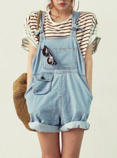 #Latzhose #Jeans #dressforless