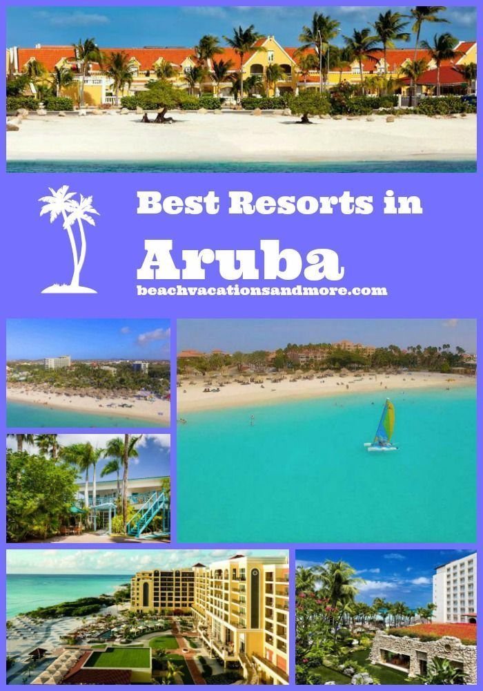 Best Aruba Non All Inclusive Resorts And Hotels Vacations
