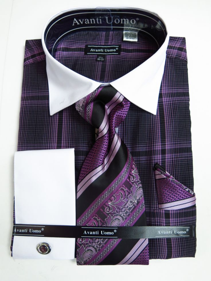 180 best mens dress shirts images on pinterest dress for Cuff shirts for men