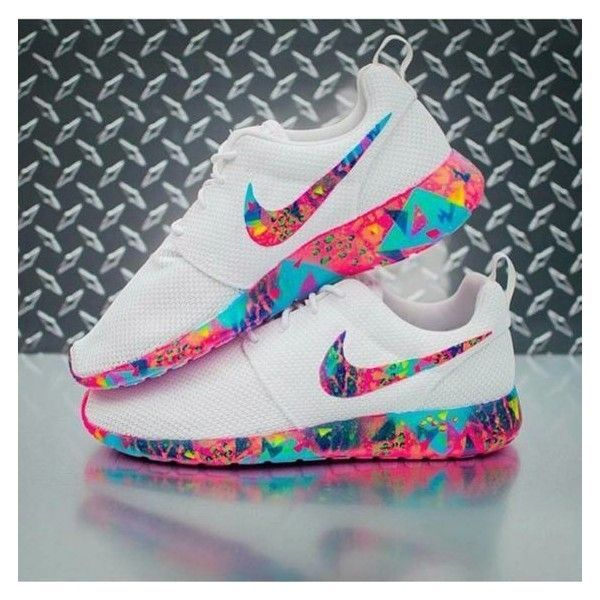 size 40 ca896 de2bc ... champs sports 022d4 da88e hot shoes rose roshe runs colorful multicolor  white nike nike nikeu2026 6fa75 ec945 ...