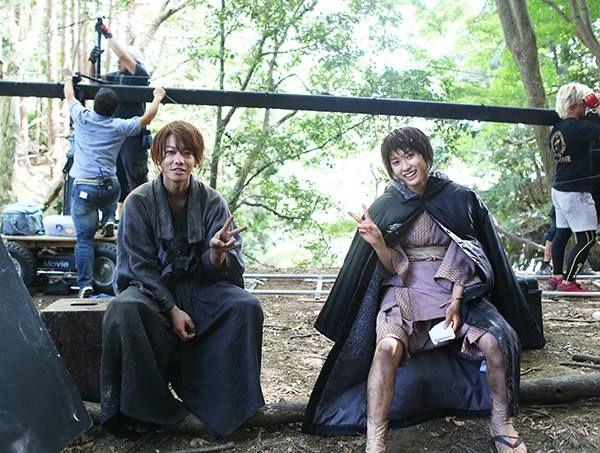 Rurouni Kenshin behind the scenes
