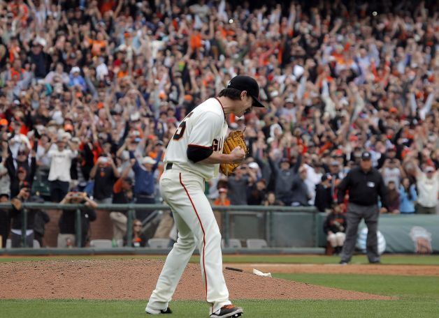 Tim Lincecum No Hitter - San Francisco Giants.  Padres; second no-hitter pitched by Lincemum